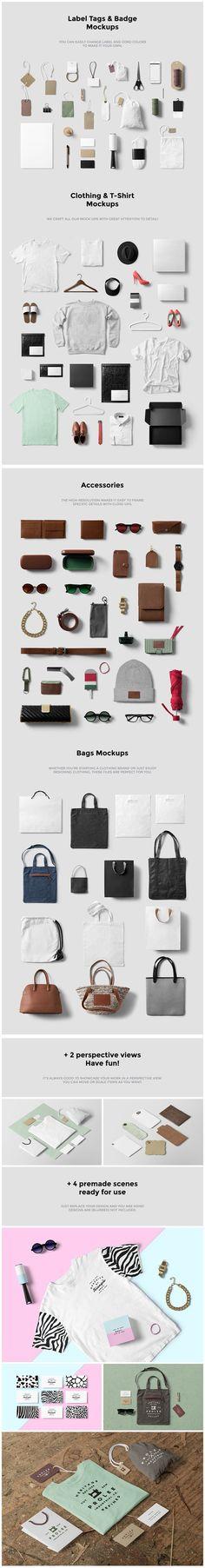 Clothing, Fashion & T-Shirt Mockups https://www.designcuts.com/product/clothing-fashion-t-shirt-mockups/