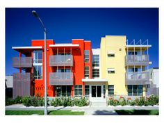 "2004 – ""Fiesta House Senior Housing Apartments"" Reseda, CA – Built by Alpha Construction, Inc. – Superintendent: Phil Logan - Front view"