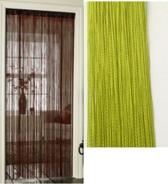 String Curtains Patio Net Fringe for Door Fly Screen Windows Divider Cut To Size String Curtains, Patio Curtains, Door Curtains, Net Door, First Apartment, Back Doors, Blinds, Divider, New Homes