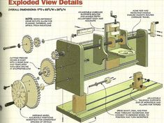 ShopNotes Router Milling Machine Gears In ShopNotes No. 115, Vol. 20, Shows how to build a milling machine that uses your router to create decorative profiles on a workpiece, like a table leg. The key to how this milling machine works is the router bits used and the setup of the gears. I cut the gears for a buddy.