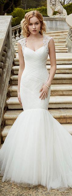 Bellethemagazine wedding dresses | Blue by Enzoani | Floor Ivory Mermaid / Trumpet Sweetheart $$$ ($2,001-3,000)