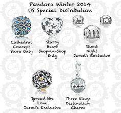ea2655876 Following closely on the preview of the Pandora Autumn 2014 Collection,  today we've