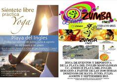 More info: What's on in Gran Canaria - Google+ #zumba #yoga #playadelingles #maspalomas #grancanaria #summer2015 #sport #activities