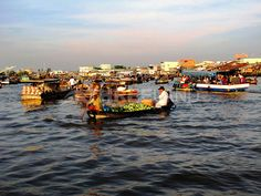 Cai Rang floating market – Can Tho