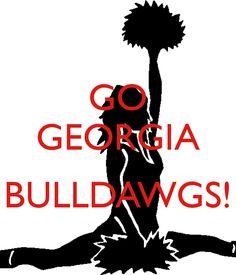 GO GEORGIA  BULLDAWGS!