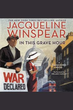 As Britain becomes engulfed in a second World War, the indomitable Maisie Dobbs is plunged into a treacherous battle of her own when she stumbles on the deaths of refugees who may have been more than ordinary people seeking sanctuary on English soil, in this enthralling chapter in Jacqueline Winspear's enormously popular New York Times bestselling series.