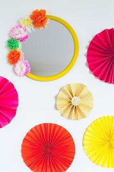 DIY Crepe Tissue Paper Flowers