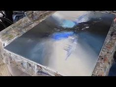 Abstract painting - Démonstration peinture abstraite (15) - Althea - YouTube