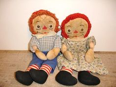 Raggedy Andy and Raggedy Ann--