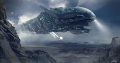 Epic sci-fi images, by artist Dragos Jieanu.