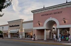 Orlando Premium Outlets  na International Drive em Orlando