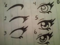 Simple anime Eyes.. To whoever cannot seem to get it right... *cough* me *cough*