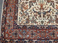 "Isfahan auf Seide signiert "" Seirafian Baghe"" EBCOM001 - Volkskunst - Antiquitäten & Kunst - AV-Pfandhaus Shop Shops, Av, Rugs, Home Decor, Silk, Cotton, Farmhouse Rugs, Tents, Interior Design"