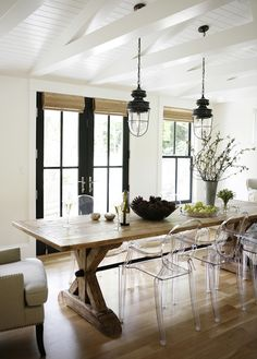 Get The Look // Neutral Modern Farmhouse Dining