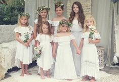Tea Princess : Girls dresses for special occasions - vintage rustic boho flowergirl dresses, communion dresses, christening dresses, party dresses, girls dresses Sydney Flower Girl Dresses Boho, Short Beach Dresses, Boho Dress, Dress Up, Bohemian Flower Girls, Wedding Flower Girls, Vintage Flower Girls, Dress Vintage, Beach Flower Girls