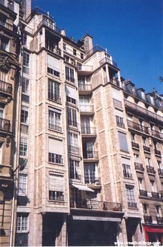 edificio Rue Franklin - Fachada