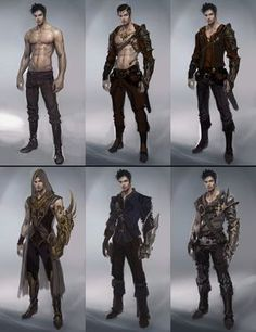 ArtStation - sketches of male character , seunghee lee