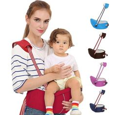 43f08a9834d Here s a Baby Hip Seat Carrier designed for the practical mom or dad!  Featuring the