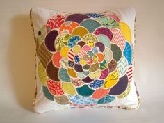 How To: Make a Orimono Pillow from Fabric Scraps