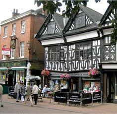 Nantwich, Cheshire, England, UK