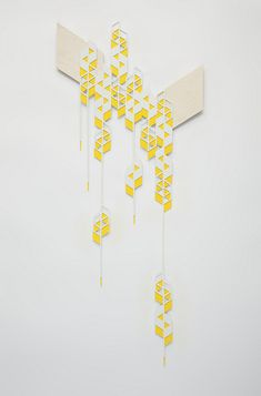 falling parallelograms - sandra fettingis //