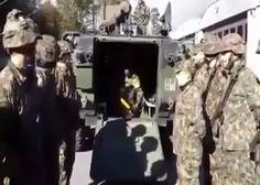 Sveitsin armeijan uuden ylipäällikön virkaan-astujaistilaisuus