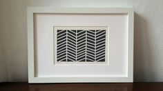 BatonRouge Linoprint grau Lino Cut von UrbanSeaIsBatonRouge auf Etsy