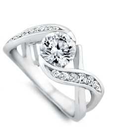 Soul Mate Engagement Ring - Mark Schneider Design ... so this came up and i cant just skip over it .. its amazing!