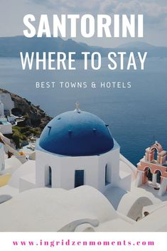 The ultimate guide for where to stay in Santorini, Greece - a roundup of all the best Santorini hotels, best villages to choose for your Greek island vacation, your Santorini honeymoon or if you are just looking for luxury Santorini vacation ideas Santorini Vacation, Santorini Beaches, Imerovigli Santorini, Greece Vacation, Santorini Greece, Greece Travel, Crete Greece, Athens Greece, Travel Europe
