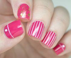 Nail Art Favourites: Sweet Color Liner Polish - The Nailasaurus Nail Swag, Shellac, Uk Nails, Nail Art Blog, Nails First, Nail Polish, Manicure Y Pedicure, Striped Nails, Great Nails