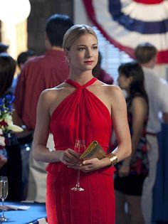 I want this dress. anyone know who makes it? It's from Revenge, Emily Thorne wore it