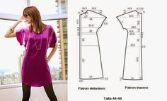 Moda y Costura Consejos: Vestido Para Hacer FACIL - 1