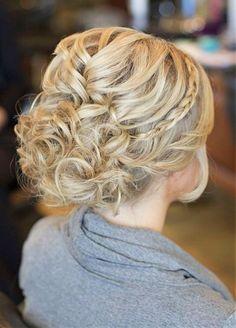bridesmaid hairstyles beach wedding - Google Search