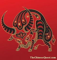 Have you ever found your birth year on the Chinese Zodiac and thought they got you all wrong? Take our quiz and we'll help you learn your actual Chinese Zodiac sign. Ox Chinese Zodiac, Chinese Astrology, Doodles Zentangles, Red Bull Images, Ox Tattoo, Tattoos, Zodiac Sign Quiz, Art Chinois, Chinese Patterns