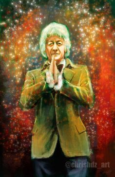 The Doctor- Jon Pertwee (3rd Doctor) by ChrisHdzArt.deviantart.com on @DeviantArt