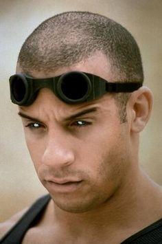 Vin Diesel stars as Riddikk in Pitch Black. Those eyes!