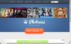 Great FREE tool for making photo collages online #photovisi  #virtualassistanttools