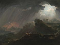 Joshua Commanding the Sun to Stand Still, John Martin, c. 1840
