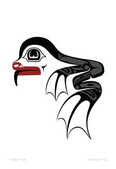 Haida Frog by Clarence Mills