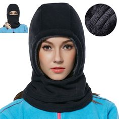 Balaclava Ski Mask, Zoizlla Winter Motorcycle Face Mask for Women/Men, Thick Face Cover Ninjia Mask, Thermal Neck Gaiter Warmer Snowboard Headgear - Fleece. &#9658PRODUCT FEATURES - 1. Free breathable yet keep you warm; 2. Completely cut wind, dust and UV off; 3. Absorb sweat and ventilate; 4. No fading, no pilling, no odor; 5. Arctic velvet & polar fleece double deck fabric. &#9658MULTI FUNCTIONS - The balaclava has many multi functions, which can be used as a scarf, helmet-liner…