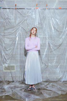 koreanmodel: Kim Min Jung by Hwang Un Ha for Fayewoo Lookbook
