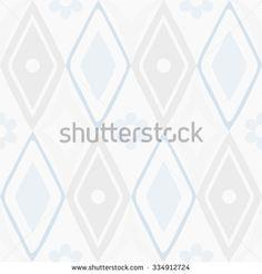seamless pastel shades rhombus pattern - stock vector
