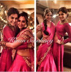 Taapsee Pannu in Designer Reeti Arneja at a wedding in Mumbai