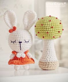 Cute Amigurumi Bunny Girl - FREE Crochet Pattern / Tutorial