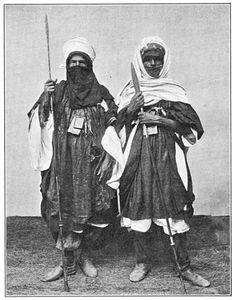 Tuareg warriors, 1906 via reddit - Historical Times