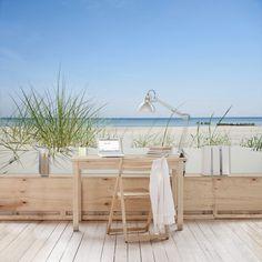 Strandtapete - Vliestapete - Ostseeküste - Fototapete Breit