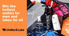 Underwear and Lube Giveaway, 10 Winners!