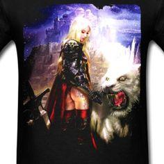 White Beast - Men's T-Shirt