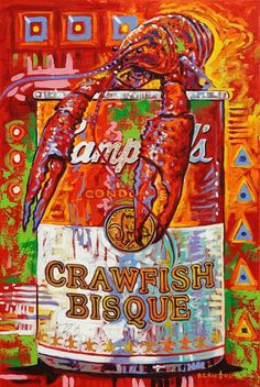 cajun bisque ... Love, love, love this man's art !!!!