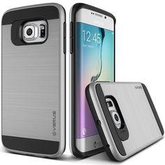 Coque Galaxy S6 Edge, Coque de protection double couche Samsung Galaxy 6 Edge